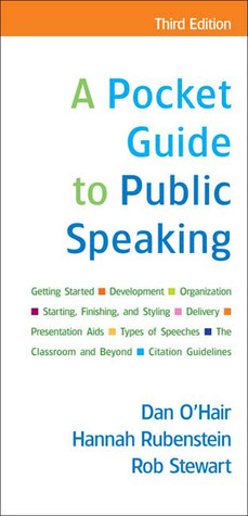 A pocket guide to public speaking by dan ohair a pocket guide to public speaking other editions enlarge cover 8111211 fandeluxe Image collections