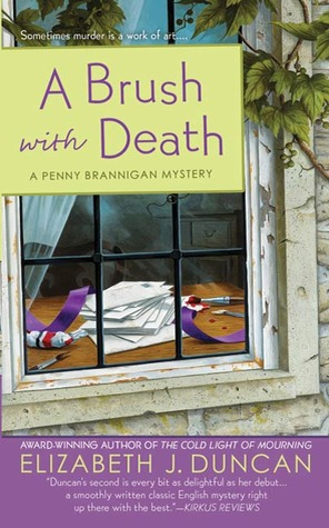 A Brush with Death (A Penny Brannigan Mystery #2)