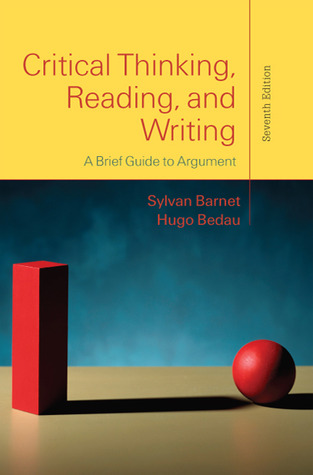 critical thinking reading and writing book Amazoncom: critical thinking, reading and writing: a brief guide to argument (9781319035457): sylvan barnet, hugo bedau, john o'hara: books.