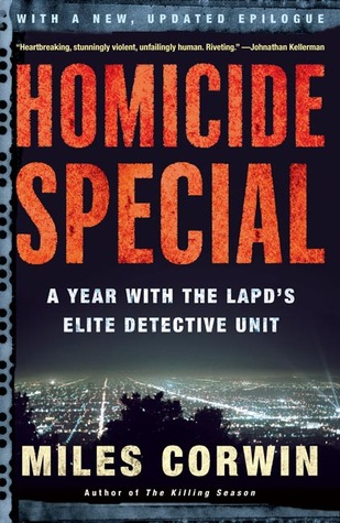 Homicide Special by Miles Corwin