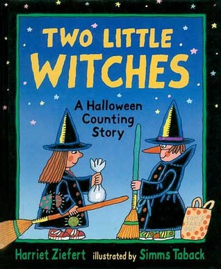 two little witches a halloween counting story by harriet ziefert