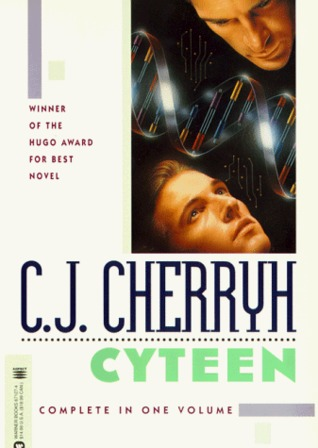 Cover of Cyteen by C.J. Cherryh, from Goodreads
