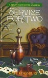 Service for Two (Pennyfoot Hotel Mystery, #3)