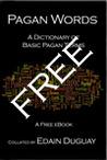 Pagan Words ~ A Dictionary of Basic Pagan Terms