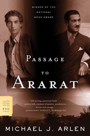 Passage to Ararat by Michael J. Arlen