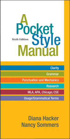 a pocket style manual 8th edition online
