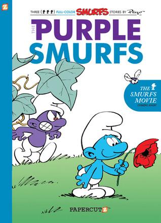 The Purple Smurfs by Peyo
