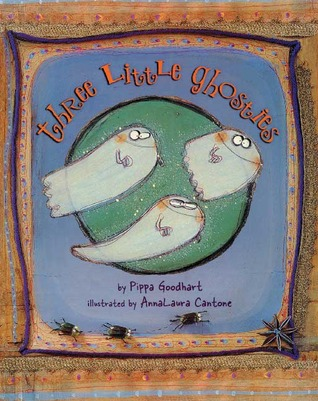 Three Little Ghosties by Pippa Goodhart