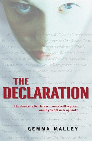 The Declaration by Gemma Malley