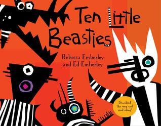 Ten Little Beasties by Ed Emberley
