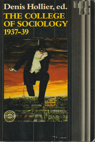 The College of Sociology, 1937-1939 Cover art