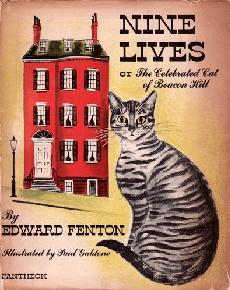 Nine Lives, or the Celebrated Cat of Beacon Hill by Edward Fenton