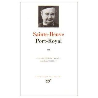 Port-Royal, Vol. III