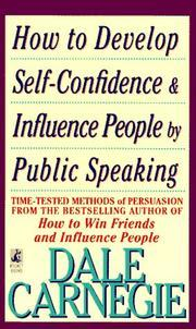 Ebook How to Develop Self-Confidence And Influence People by Dale Carnegie read!