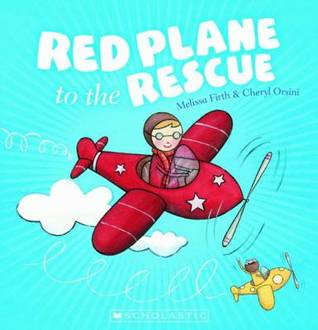Red plane to the rescue