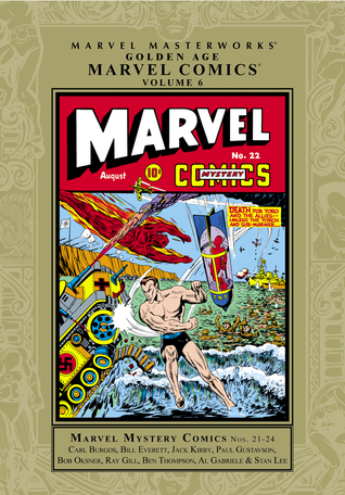 Marvel Masterworks: Golden Age Marvel Comics, Vol. 6
