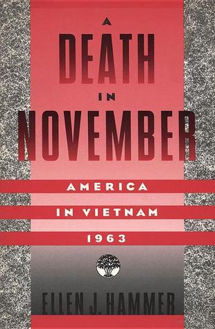 A Death In November by Ellen J. Hammer