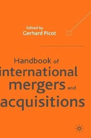 Handbook of International Mergers and Acquisitions
