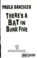 The Cat Ate My Gymsuit & There's a Bat in Bunk Five