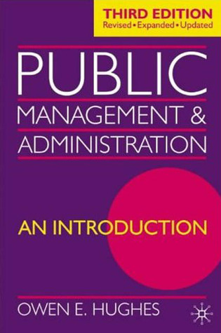Public Management and Administration: An Introduction