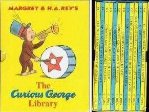 Curious George 12 Volume Library Assortment