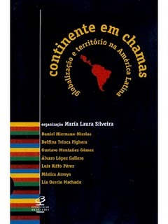 Continente Em Chamas by Maria Laura Silveira