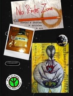No Printer Zone - Issue 1 - November 2011 by Matthew Glenn Ward