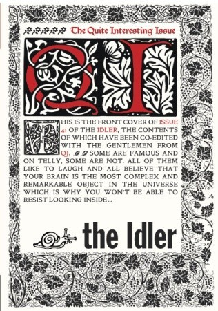 The Idler 41: The Quite Interesting Issue