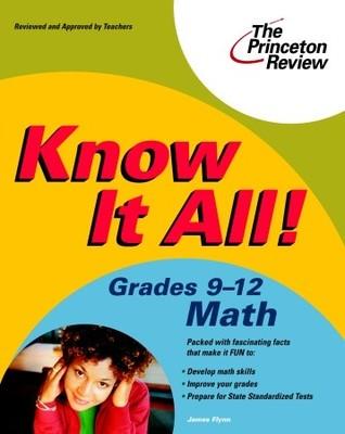 Know It All! Grades 9-12 Math (K-12 Study Aids)