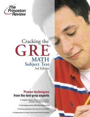 Cracking The Gre Math Subject Test By The Princeton Review