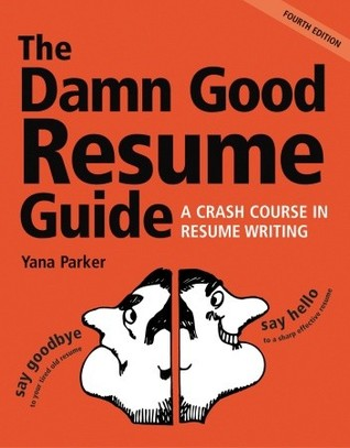 damn good resume book