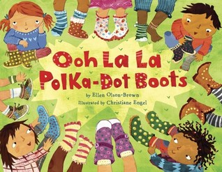 Ooh La La Polka-Dot Boots by Ellen Olson-Brown