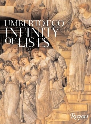 The Infinity of Lists by Umberto Eco