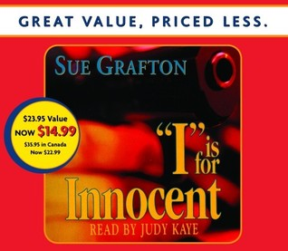 I Is For Innocent by Sue Grafton