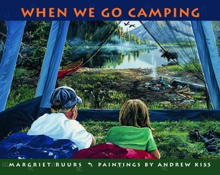 When We Go Camping by Margriet Ruurs