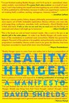 Reality Hunger: A...