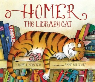Book Review: Reeve Lindbergh's Homer the Library Cat