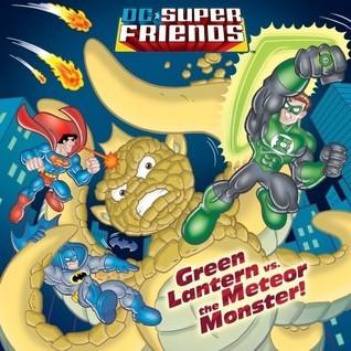 Green Lantern vs. the Meteor Monster!