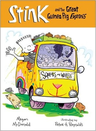 Stink and the Great Guinea Pig Express by Megan McDonald
