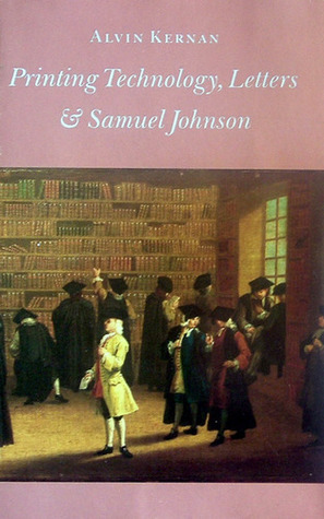 Printing Technology, Letters, and Samuel Johnson