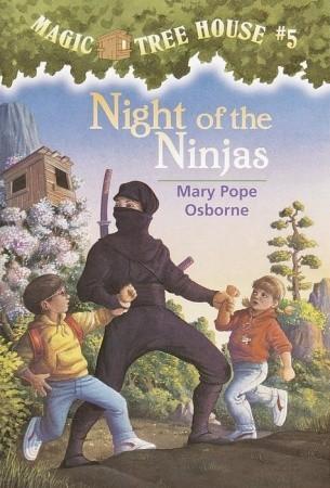 Night of the Ninjas (Magic Tree House, #5)