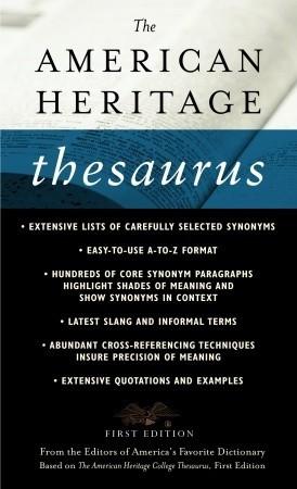 The American Heritage Thesaurus Descarga gratuita de libros de audio de computadora