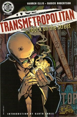 book cover for Transmetropolitan Volume 1