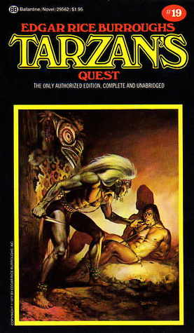 Tarzan's Quest (Tarzan, #19)