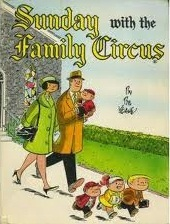 Sunday with the Family Circus by Bil Keane