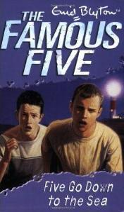 Five Go Down to the Sea (Famous Five, #12)
