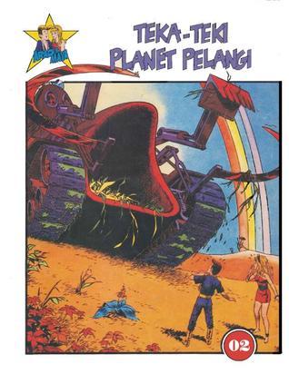Teka-teki Planet Pelangi (Arad & Maya, #2)