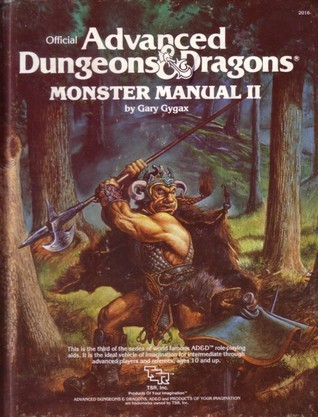 Monster Manual II (Advanced Dungeons & Dragons 1st Edition, Stock #2016)