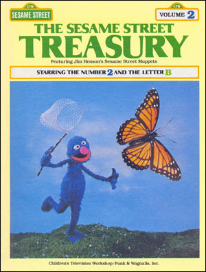 The Sesame Street Treasury Volume 2 Starring The Number 2 And