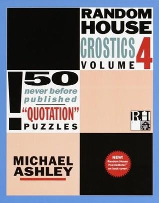 Random House Crostics, Volume 4